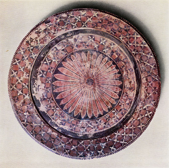 polychrome bowl, Baghdad museum number IM17837, status unknown